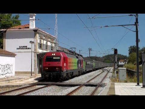 Railways in the Algarve (Ferrovias no Algarve) 51- Estação de São Marcos Santana da Serra