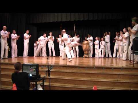 Capoeira Malês @ Graham Hill Elementary School - performance