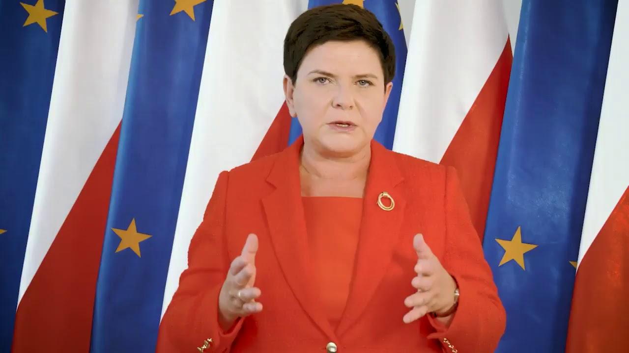 """Beata Szydło: """"Polski rząd będzie bronił wartości leżących u podstaw Unii Europejskiej!"""""""
