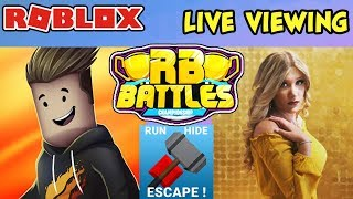 🔴 ROBLOX LIVE 🔴 RB Battles Event Live Viewing - PRESTONPLAYZ vs BRIANNAPLAYZ Reaction & Discussion