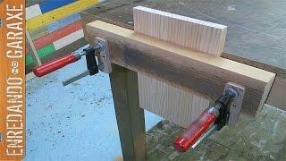 Como hacer un tornillo de banco de carpintero