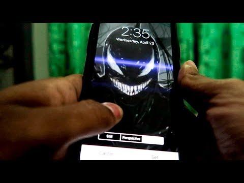 Venom Iphone X Live Wallpaper