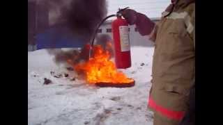 видео огнетушитель оп