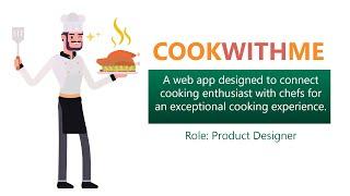UX Design COOKWITHME App Case …