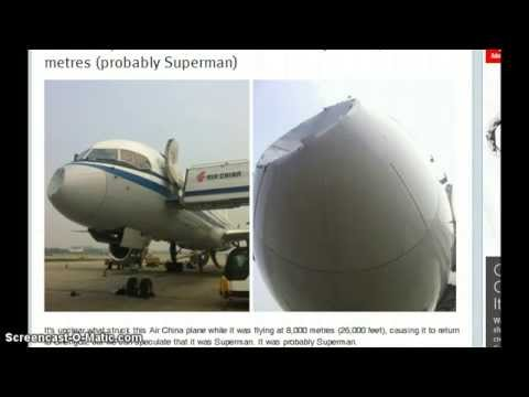 WTF! Chinese Jetliner Hits UFO or Unknown Object at 26,000 ft! UFO Ovni China 2013