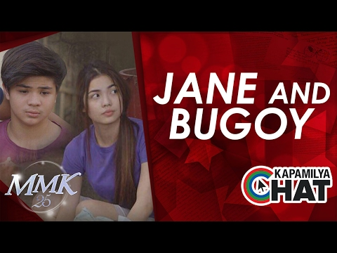 Kapamilya Chat with Jane and Bugoy for MMK