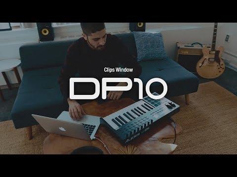 DP10 Clips window