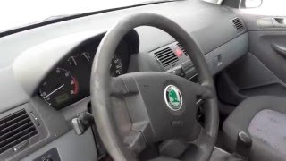 Skoda Fabia 1.2 HTP 64 HP 2003 Test Drive On Road Acceleration 0-100