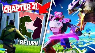*NEW* LEAKED CHAPTER 2 EVENT *POSTERS* CONFIRMS THIS SEASONS FINAL EVENT! (Battle Royale)