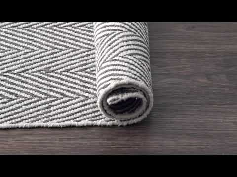 Chalet Herringbone Cotton Flatwoven