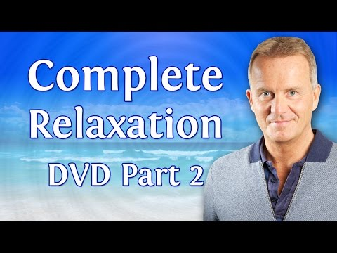Complete Relaxation Hypnosis DVD by Glenn Harrold