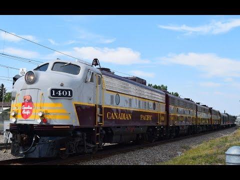 Canadian Pacific Canada 150 Train - Calgary, Alberta - July 30, 2017