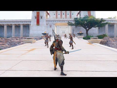 Assassin's Creed Origins Master Assassin Bayek Legendary Katana Combat & Return to Ancient Egypt thumbnail