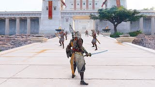 Assassin's Creed Origins Master Assassin Bayek Legendary Katana Combat & Return to Ancient Egypt