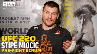 UFC 220: Stipe Miocic Says Doubters Usually 'Wake Up Looking At The Lights' - MMA Fighting