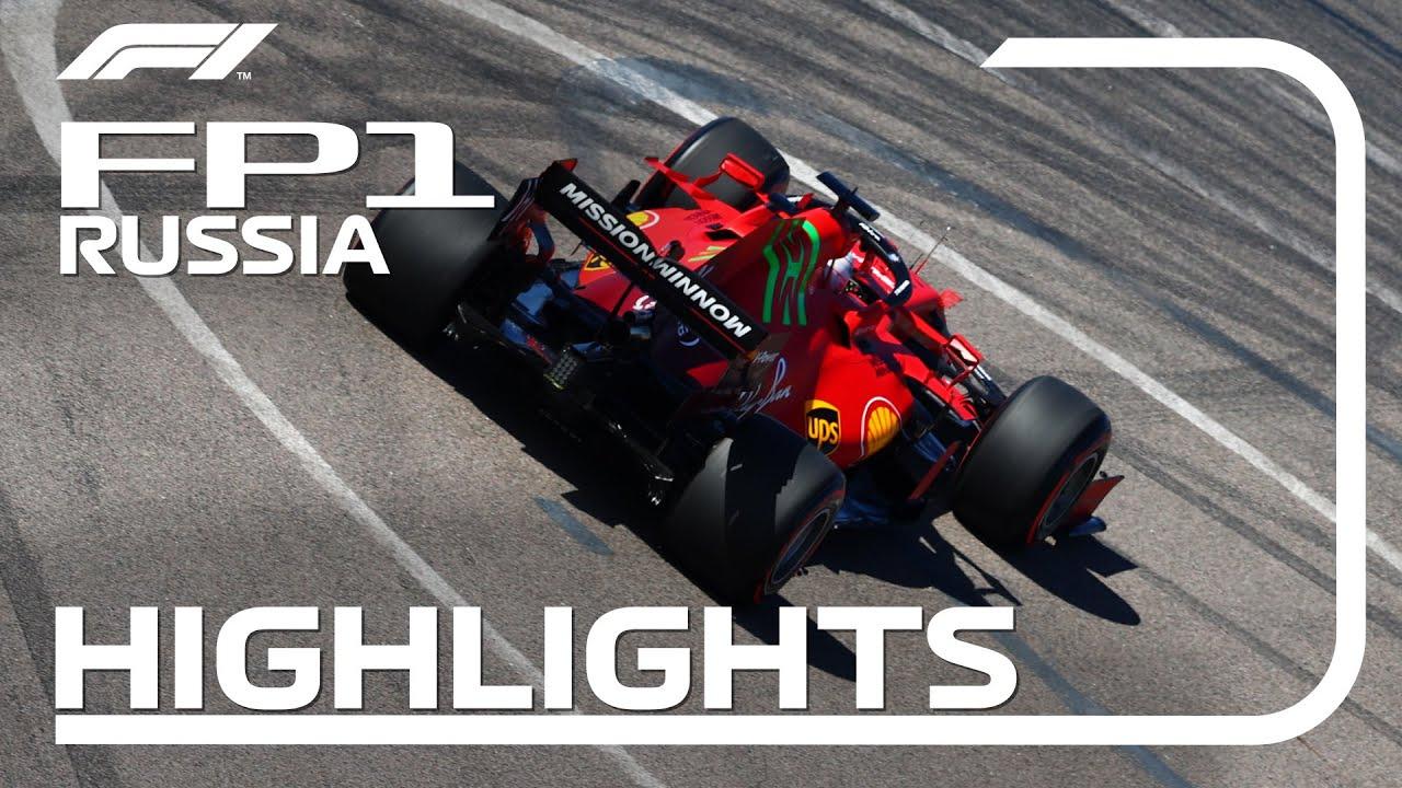 Download FP1 Highlights: 2021 Russian Grand Prix