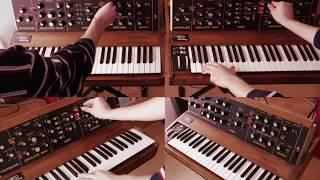 "Sounds of ""Autobahn"" by Kraftwerk on 1978 Minimoog"