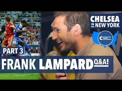 "FRANK LAMPARD  ""MUNICH WAS BEST DAY OF MY LIFE!"" -  Chelsea Fans Channel Q&A - US Pre-Season"
