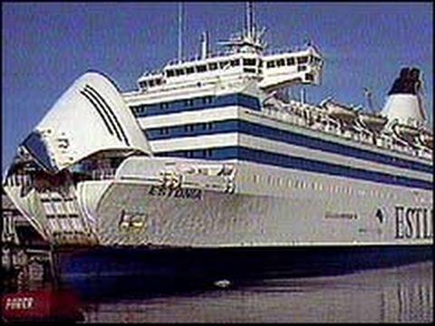 M/S Estonian onnettomuus 28.9.1994 (MTV3 myöhäisuutiset)