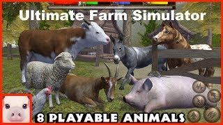 Ultimate Farm Simulator - App Check - Android / iPhone / iPad iOS Game - Gluten Free Games