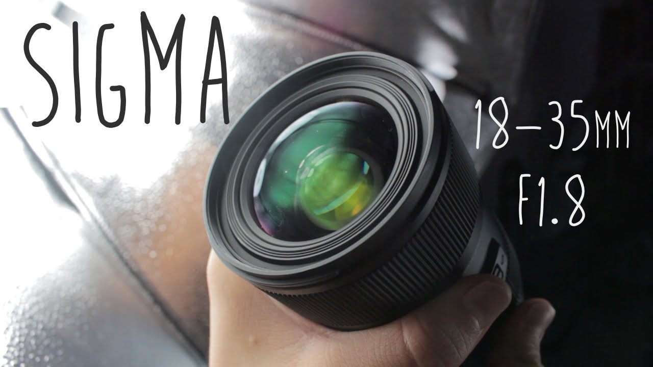 Sigma 18-35 F1.8! (Review) - YouTube