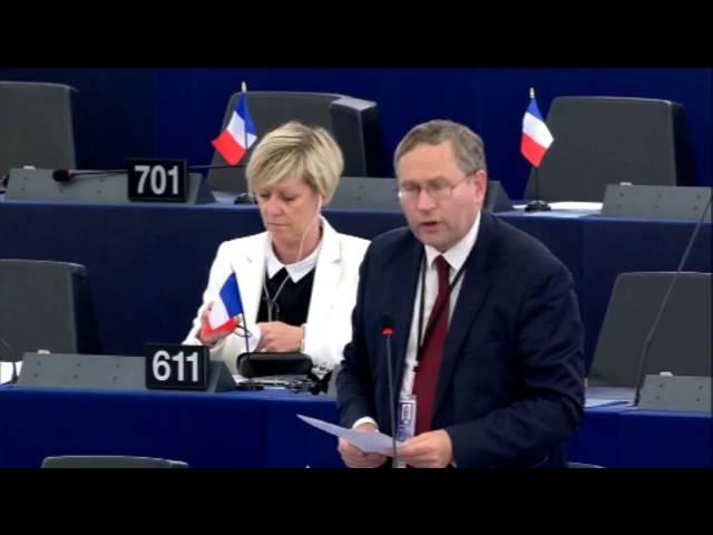 Gilles Lebreton sur le projet de corps européen de garde-frontières et de garde-côtes