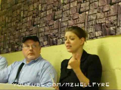 Amber Benson talks about Alyson Hanigan, Embarrassing Moments, and Music