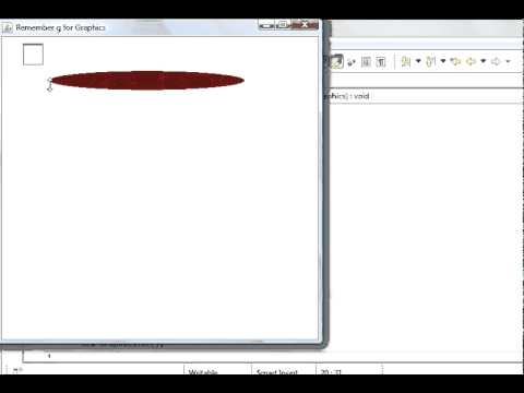 How To Draw Oval In Java
