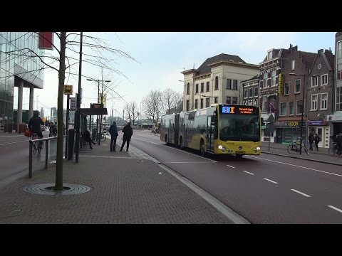 Qbuzz U-OV Mercedes-Benz Citaro Vredenburg te Utrecht