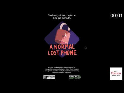 [Indie Game] A Normal Lost Phone by Accidental Queens |