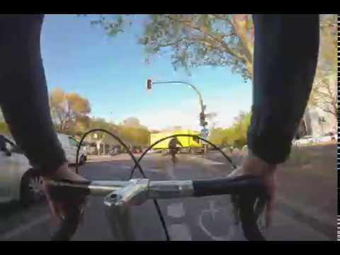 Cycling Berlin - Kreuzberg-Friedrichshain - Music By Senoy
