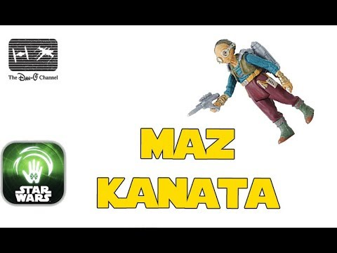 Maz Kanata | Force Link 2.0 Action Figure | The Dan-O Channel