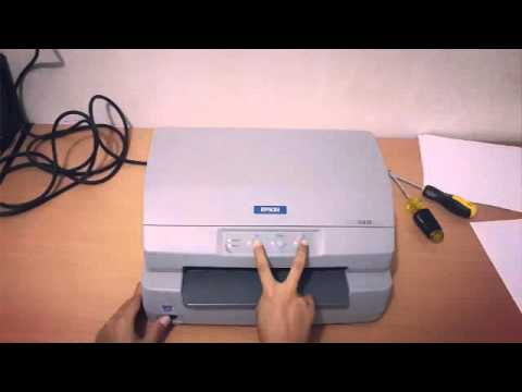Cara Reset Manual Epson Plq 20 Youtube
