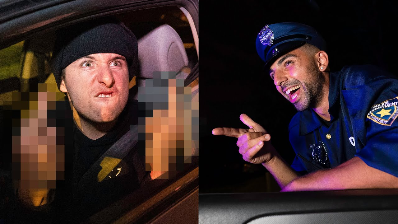 When Your White Friend Gets Pulled Over