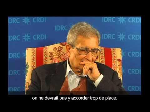 Amartya Sen - Observations du lauréat du prix Nobel (2011)
