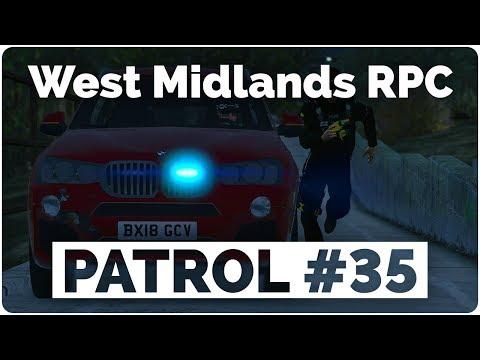 West Midlands RPC - Patrol #35 - Officer Down!