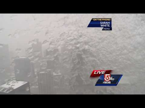 Massachusetts reports readiness as storm begins