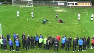 PRO GOAL Keeperstraining Oefening 1
