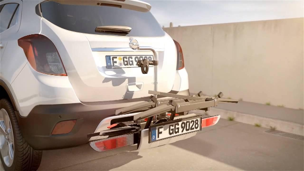 Opel Mokka Con Sistema Portabici Flexfix Youtube