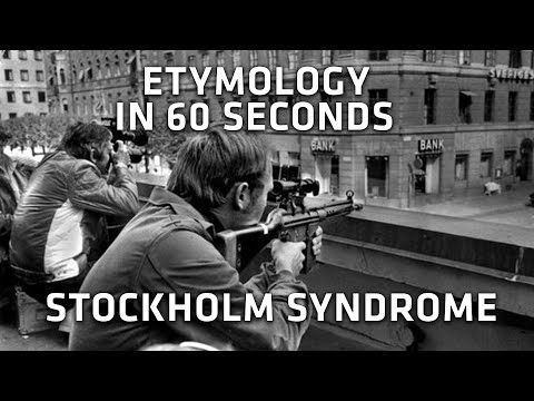 Where is the phrase Stockholm Syndrome from? - Etymology in 60s