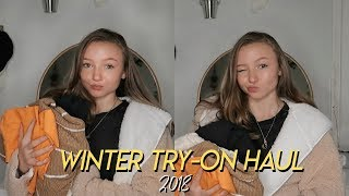 Winter TRY-ON CLOTHING HAUL 2018!