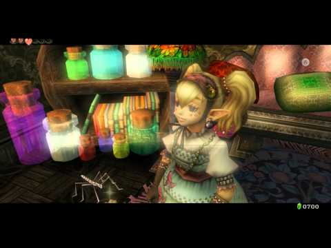 Zelda Twilight Princess HD AGITHA CASTLE Big Wallet Upgrade Rupees