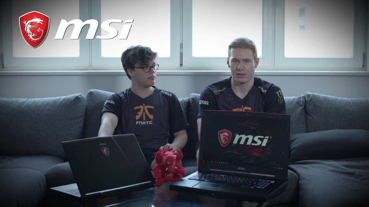 Fnatic meets MSI GT75VR Titan & GE RAIDER | MSI