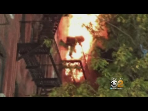 Firefighter Makes Daring Rescue