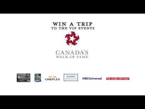 Canada's Walk of Fame 2014 National Nomination Promotion