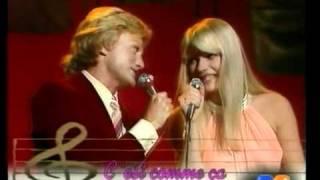 Claude François en duo avec Karen Cheryl.VOB
