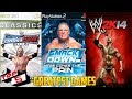 Top 5 Greatest WWE Games