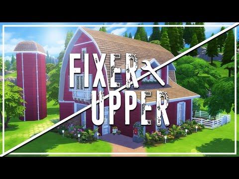 PRESCOTT FARM // The Sims 4: Fixer Upper - Home Renovation