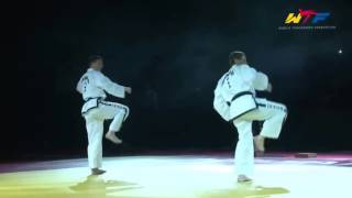 North Korea Taekwon do ITF  (Taekwondo techniques)