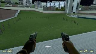 Обзоры Модов Garry's Mod 13.#32.Настраиваемое оружие из Team Fortress 2!Часть 1